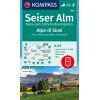 Seiser Alm, Naturpark Schlern - Rosengarten 1:25.000