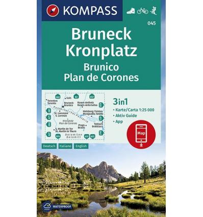 Plan de Corones, Brunico 1:25.000