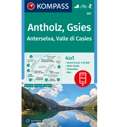 Antholz, Gsies 1:25.000