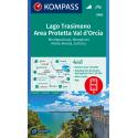Lago Trasimeno, Area Protetta Val d'Orcia 1:50.000