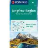 Jungfrau-Region, Thunersee, Brienzersee 1:40.000