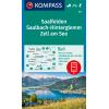 Saalfelden, Saalbach-Hinterglemm, Zell am See 1:50.000