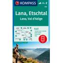 Lana, Etschtal 1:25.000