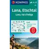 Lana, Val d'Adige 1:25.000