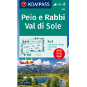Peio e Rabbi, Val di Sole 1:25.000