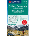 Ortles, Cevedale, Val di Solda, Valfurva 1:25.000