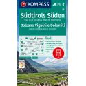 Bolzano Vigneti e Dolomiti, Val di Cembra, Val di Fiemme 1:50.000