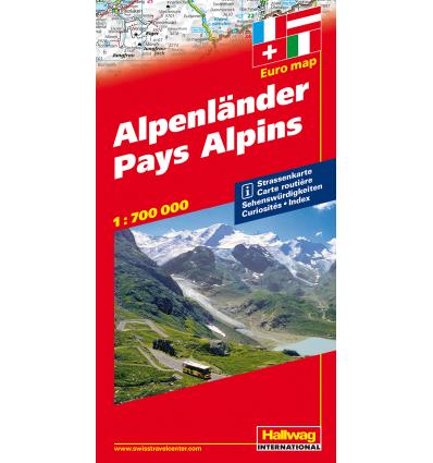 Paei Alpini, 1:750.000