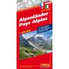 Alpenländer, 1:750.000
