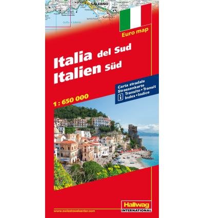 Italia Sud, 1:650.000