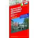 Austria, Italia Settentrionale, Slovenia 1:600.000