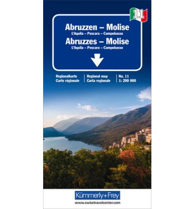 Abruzzen - Molise 1:200.000