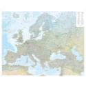 Europa carta fisica 1:4,5 Mio