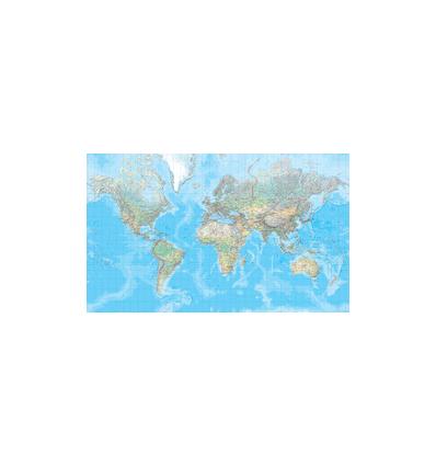 Die Welt Poster physisch 1:20 Mio