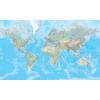 Il Mondo carta fisica 1:20 Mio
