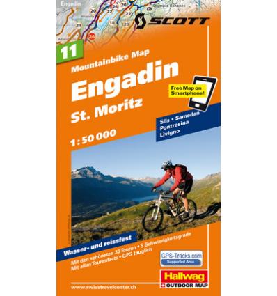 Engadin St. Moritz 1:50.000