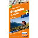 Mountainbike Map Engadin St. Moritz Nr. 11 1:50.000