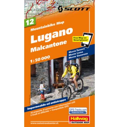 Lugano Malcantone 1:50.000