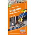 Mountainbike Map Lugano Malcantone Nr. 12 1:50.000