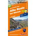 Mountainbike Map Alta Rezia, Val Müstair Nr. 17 1:50.000