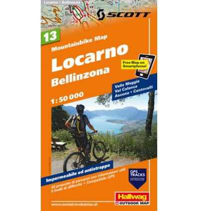 Locarno, Bellinzona 1:50.000