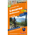 Mountainbike Map Locarno, Bellinzona Nr. 13 1:50.000