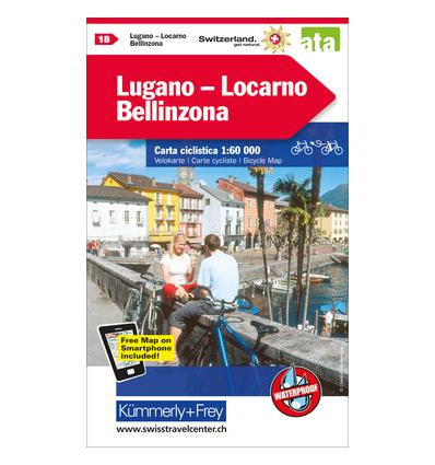 Lugano - Locarno, Bellinzona 1:60.000
