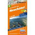 Mountainbike Map Neuenburg/Neuchatel Nr. 5 1.50.000