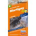 Mountainbike Map Martigny Nr. 8 1:50.000