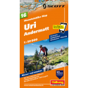 Mountainbike Map Uri Andermatt Nr. 16 1:50.000