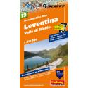 Mountainbike Map Leventina Valle di Blenio Nr. 19 1:50.000