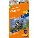 Mountainbike Map Glarus Nr. 22 1:50.000