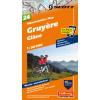 Mountainbike Map Gruyere Glane Nr. 24 1:50.000
