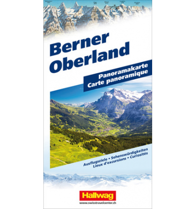 Carta panoramica Berner Oberland