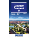 Straßenkarte Dänemark 1:300 000