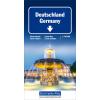 Straßenkarte Deutschland 1:750.000