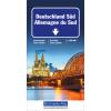 Straßenkarte Deutschland Süd 1:500 000
