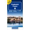 Carta stradale doppia Francia 1:600.000