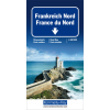 Carta stradale Francia Nord 1:600.000