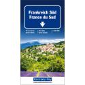 Carta stradale Francia Sud 1:600.000