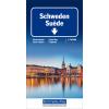 Carta stradale Svezia 1:750.000