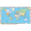 Weltkarte 1:50 Mio politisch