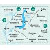 Lago d'Iseo, Valle Trompia, Franciacorta 1:50.000