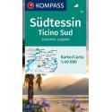 Tessin Süd, Locarno, Lugano 1:40.000