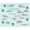 Arezzo, Casentino 1:50.000