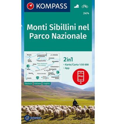 Monti Sibillini 1:50.000