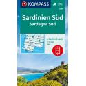 Sardinien Süd 1:50.000 – 4 Karten im Set