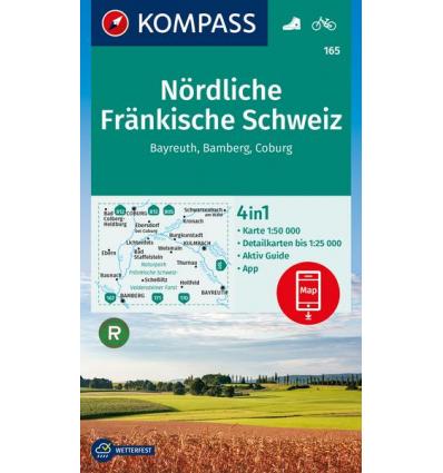 Nördliche Fränkische Schweiz, Bayreuth, Bamberg, Coburg 1:50.000