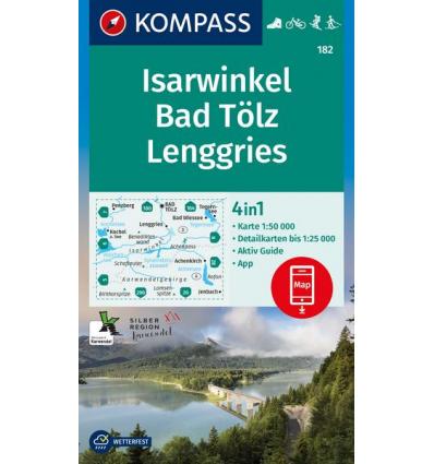 Isarwinkel, Bad Tölz, Lenggries 1:50.000