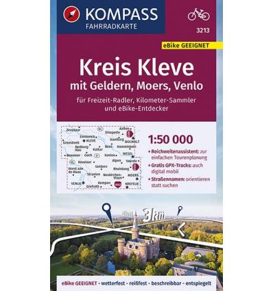 Kreis Kleve, mit Geldern, Moers, Venlo